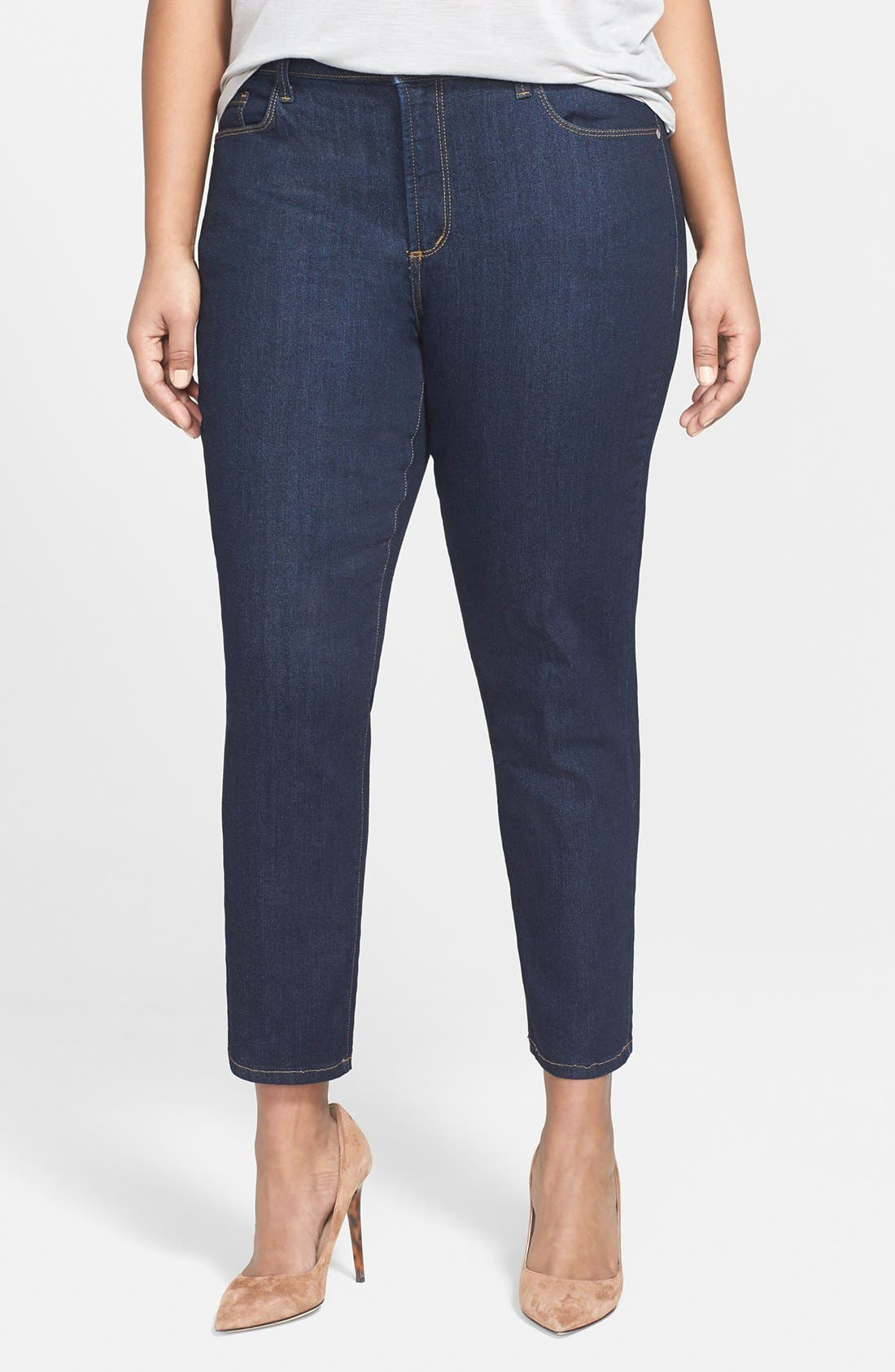 NYDJ 'Clarissa' Stretch Slim Ankle Jeans (Plus Size)