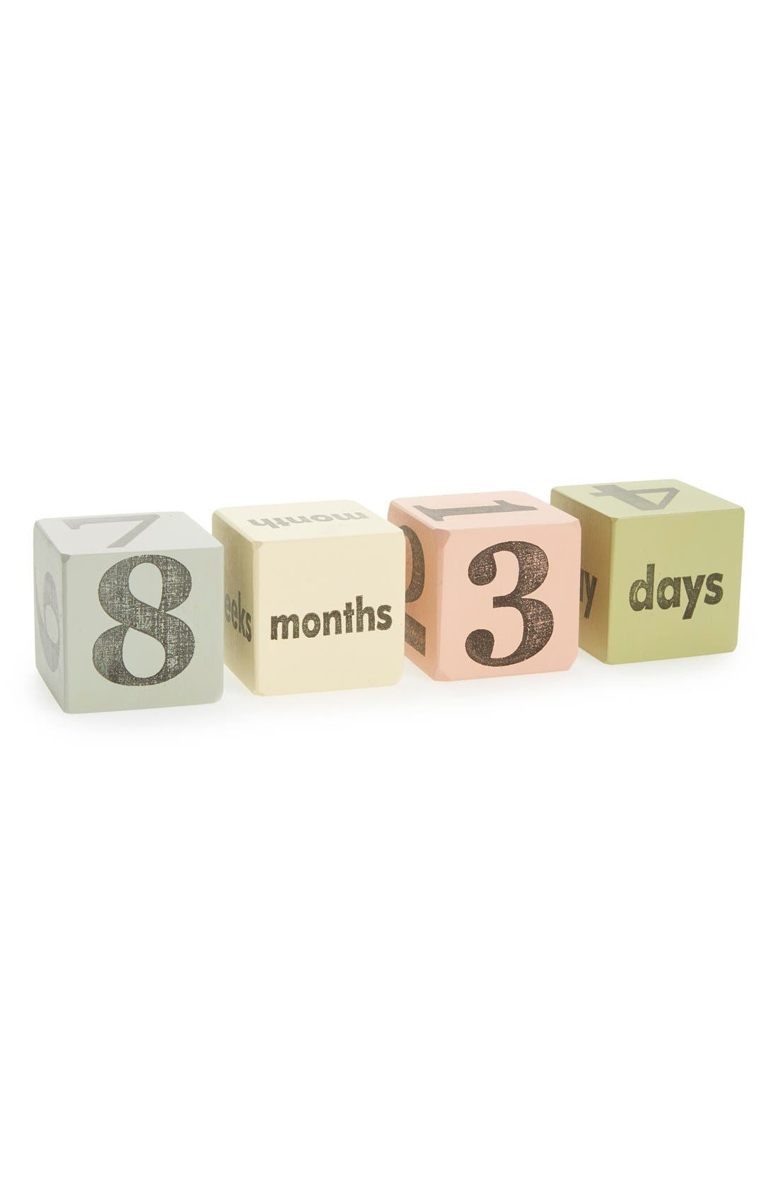 Tree by Kerri Lee Wooden Keepsake Blocks (Set of 4) (Nordstrom Exclusive)