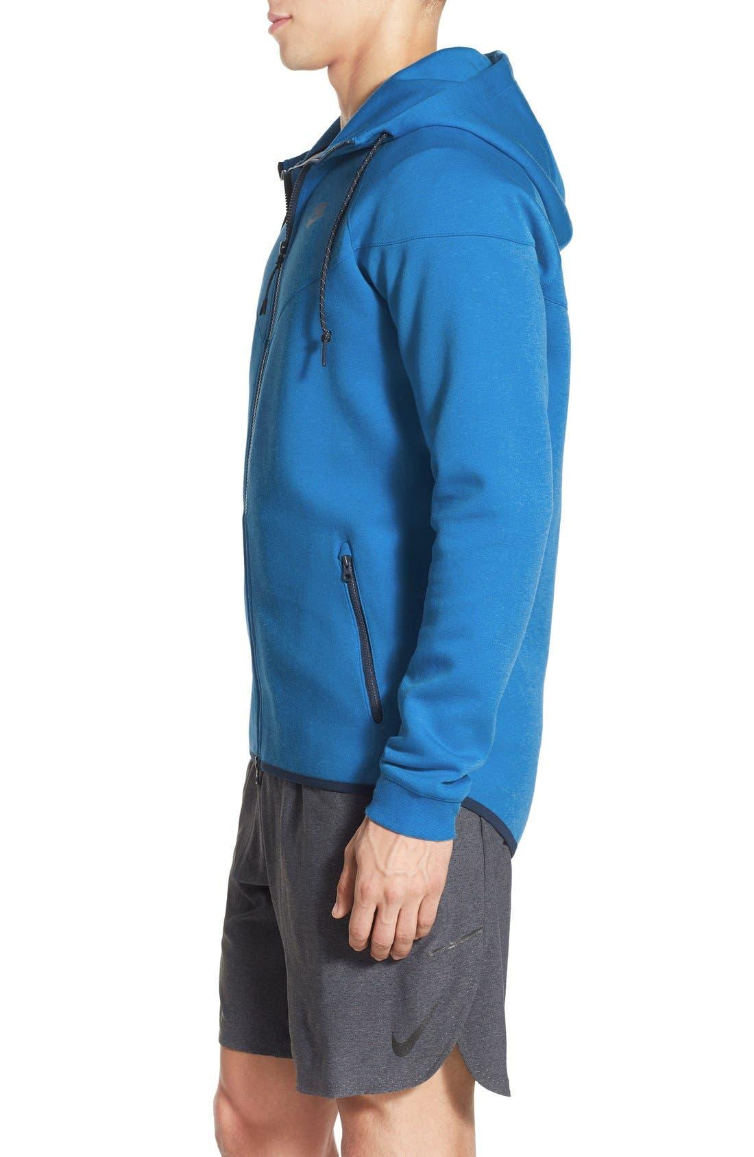 Alternate Image 3  - Nike Water Repellent Tech Fleece Windrunner Jacket