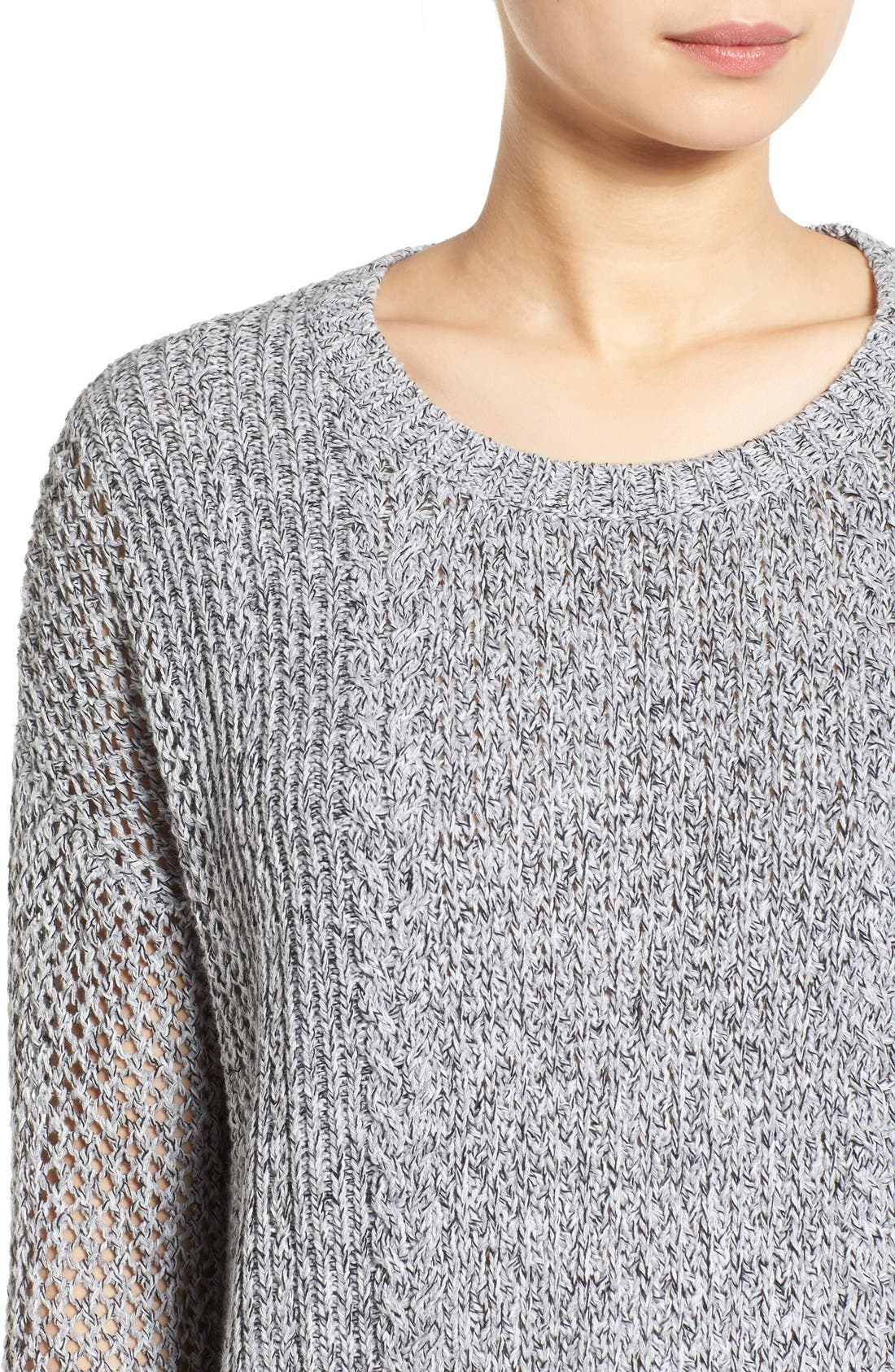 Alternate Image 4  - Madewell 'Karlie' Cable Knit Sweater