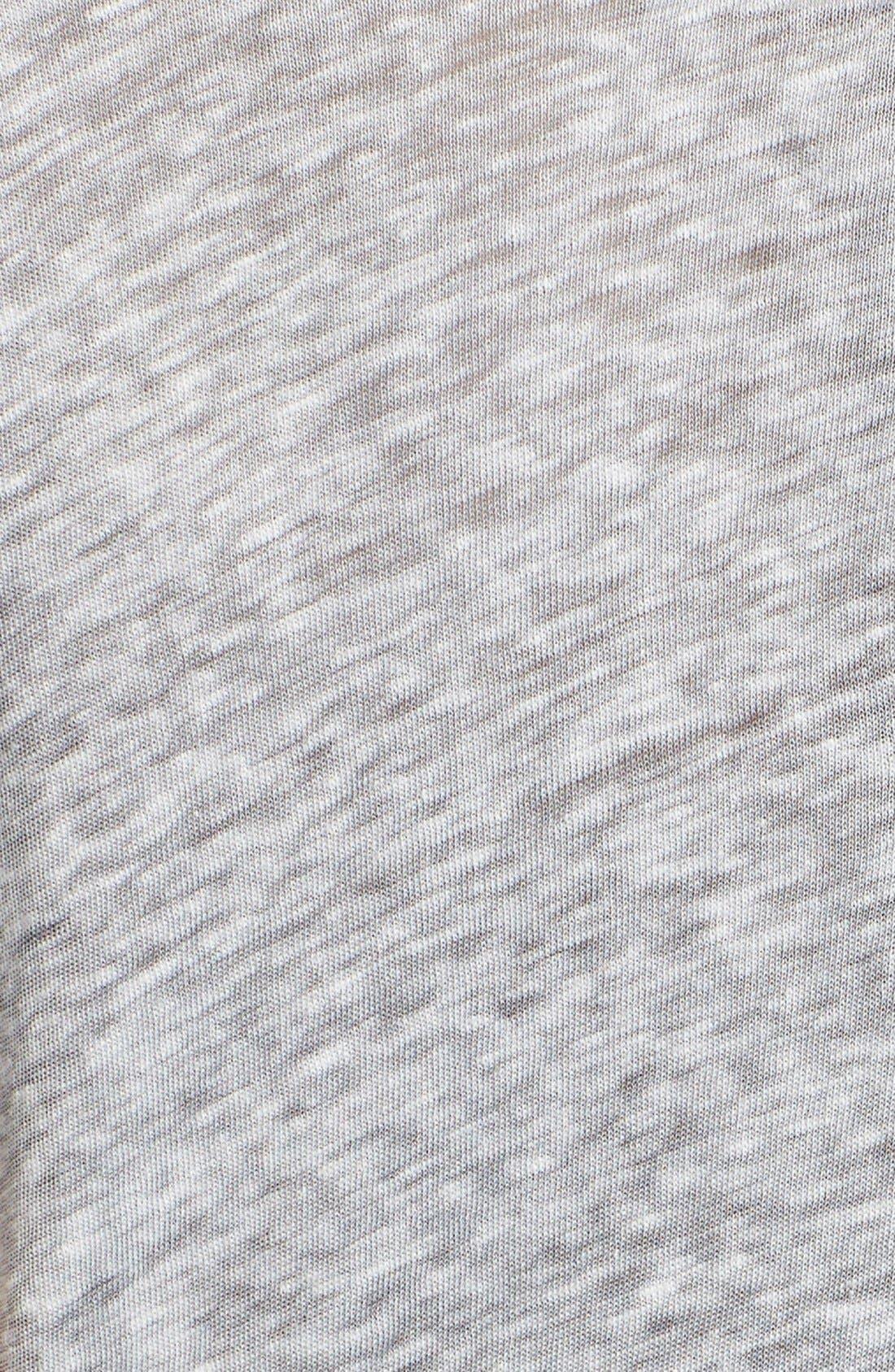 Alternate Image 5  - Current/Elliott 'The Petit' Linen & Cotton Tee