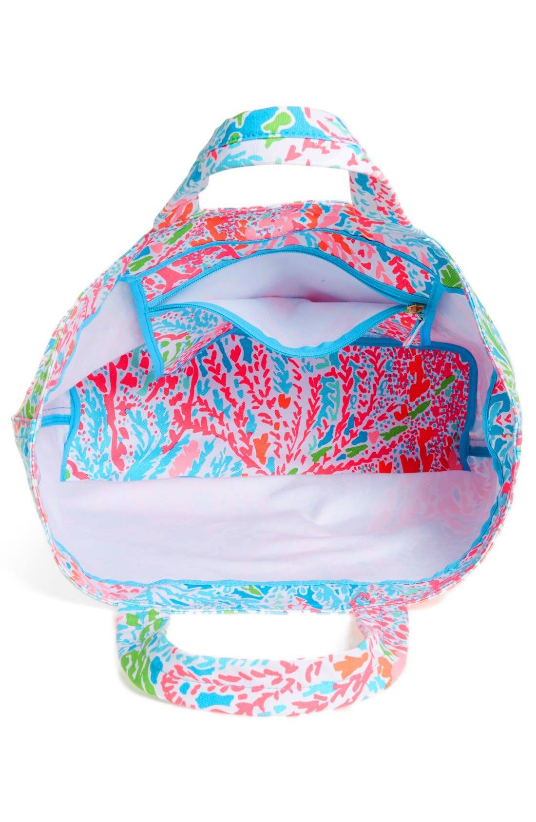 Alternate Image 4  - Lilly Pulitzer® Canvas Beach Tote