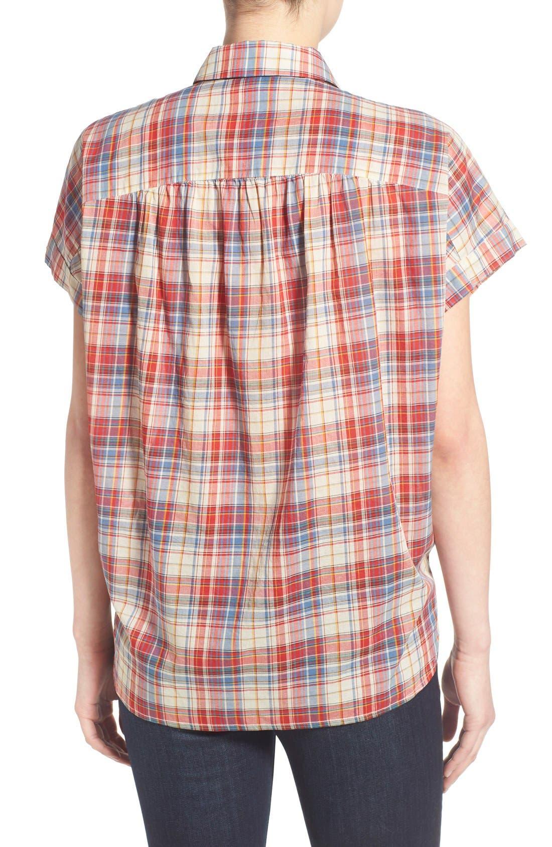 Alternate Image 2  - Madewell Plaid Boxy Cotton Shirt