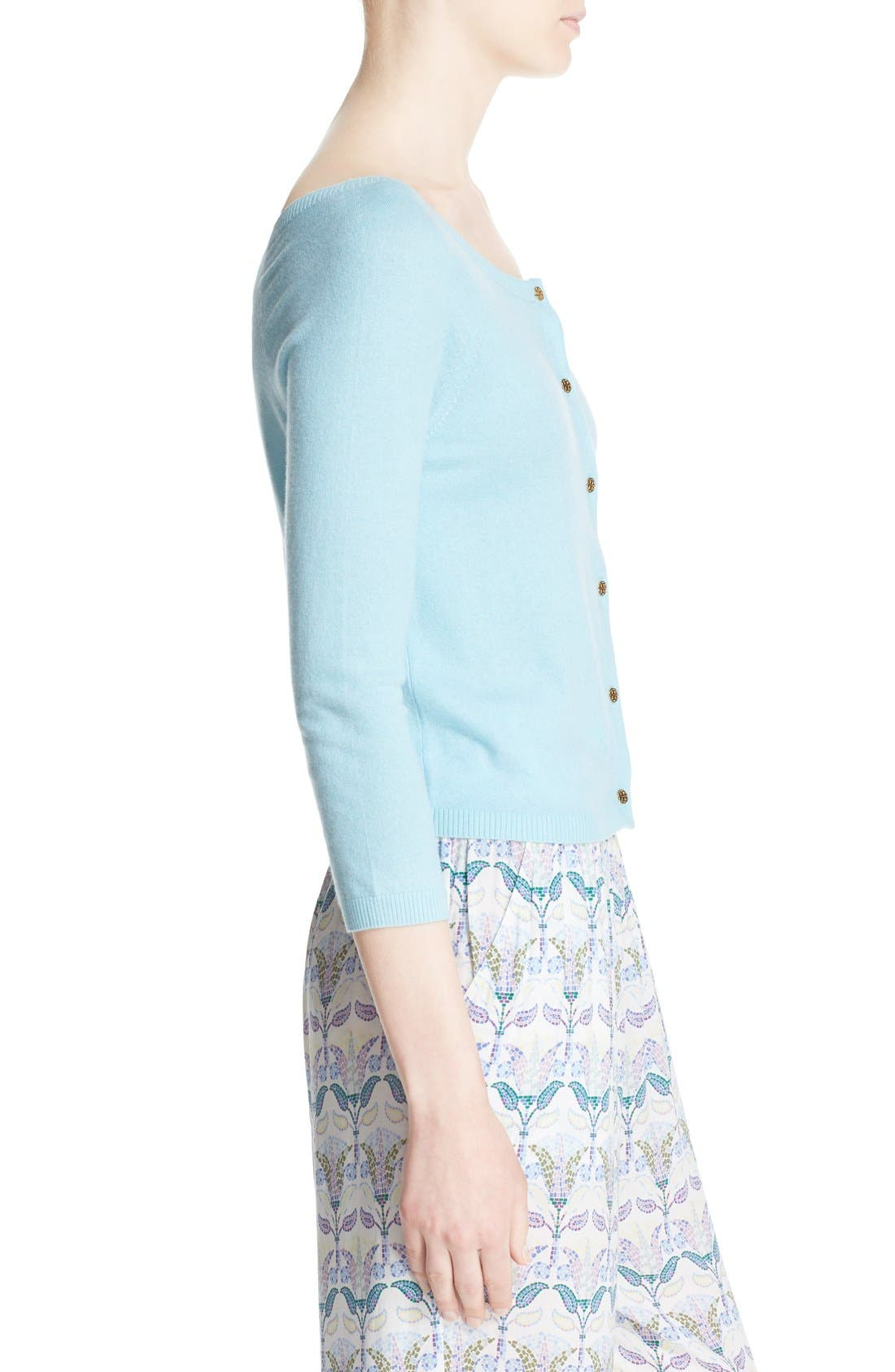 Alternate Image 3  - Tory Burch 'Rosemary' Cashmere Cardigan