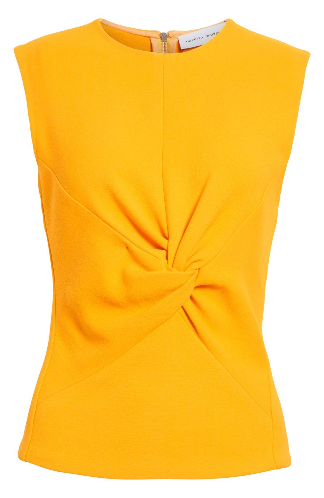 Alternate Image 4  - Narciso Rodriguez Twist Front Crepe Top