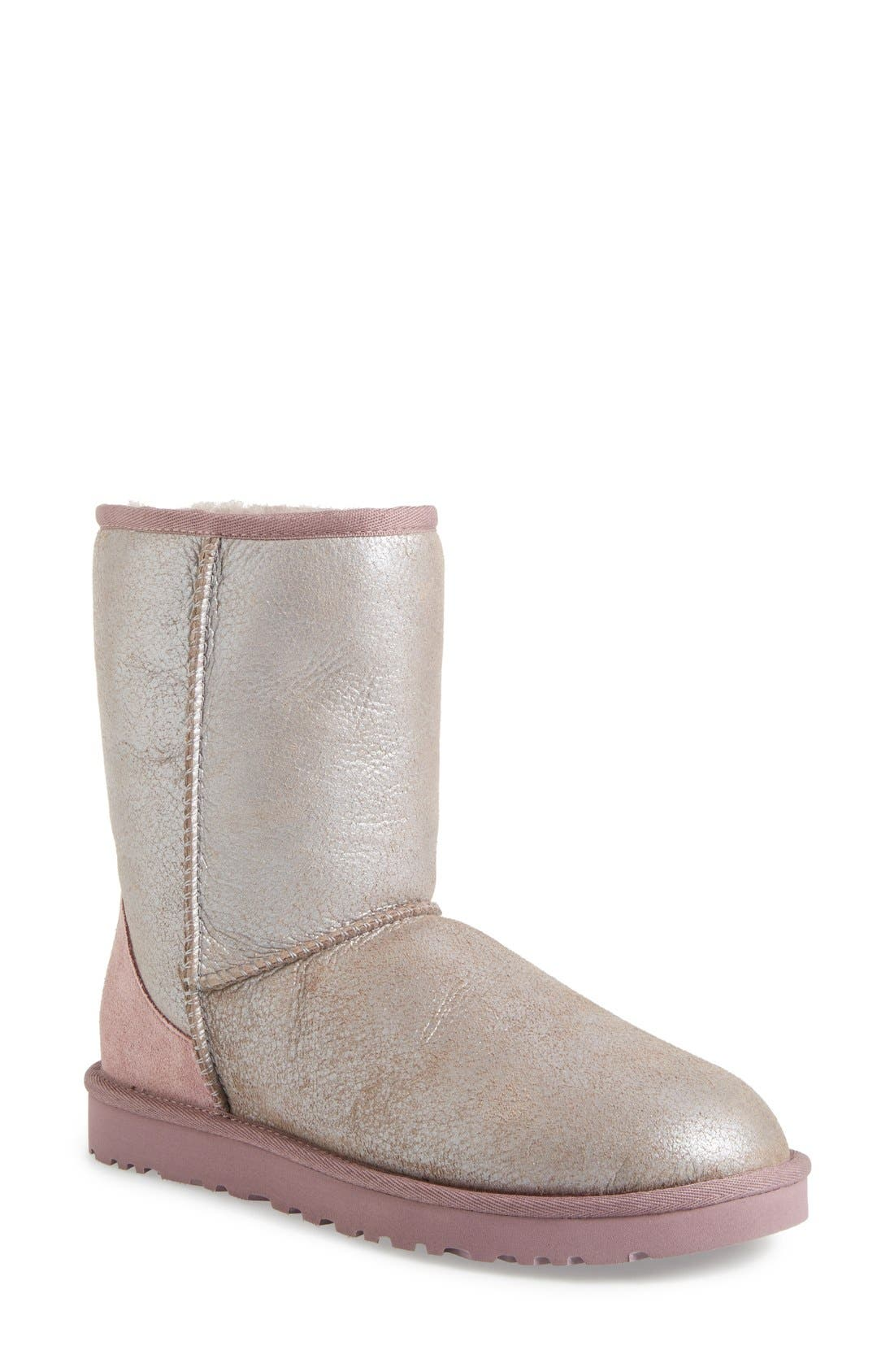 Alternate Image 1 Selected - UGG® 'Classic Short - Metallic' Boot (Women)