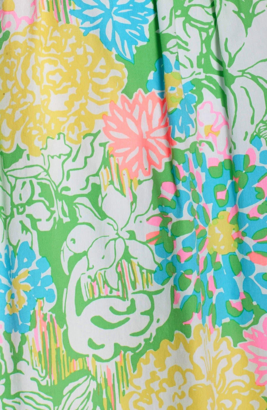 Alternate Image 6  - Lilly Pulitzer® 'Raegan' Cotton Fit & Flare Dress