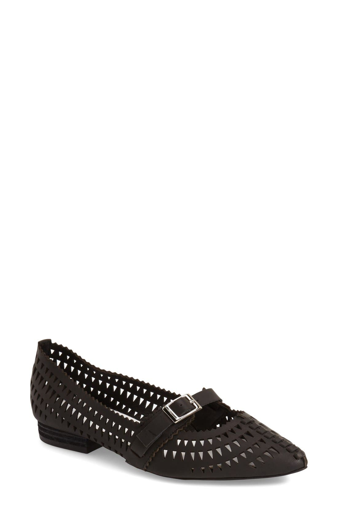 Alternate Image 1 Selected - Jeffrey Campbell 'Padme' Mary Jane Flat (Women)