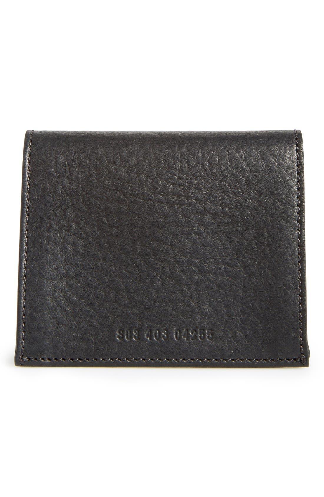 Alternate Image 3  - Shinola Gusset Leather Card Case
