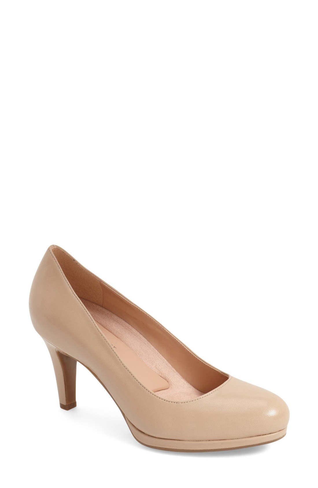Naturalizer 'Michelle' Almond Toe Pump (Women)