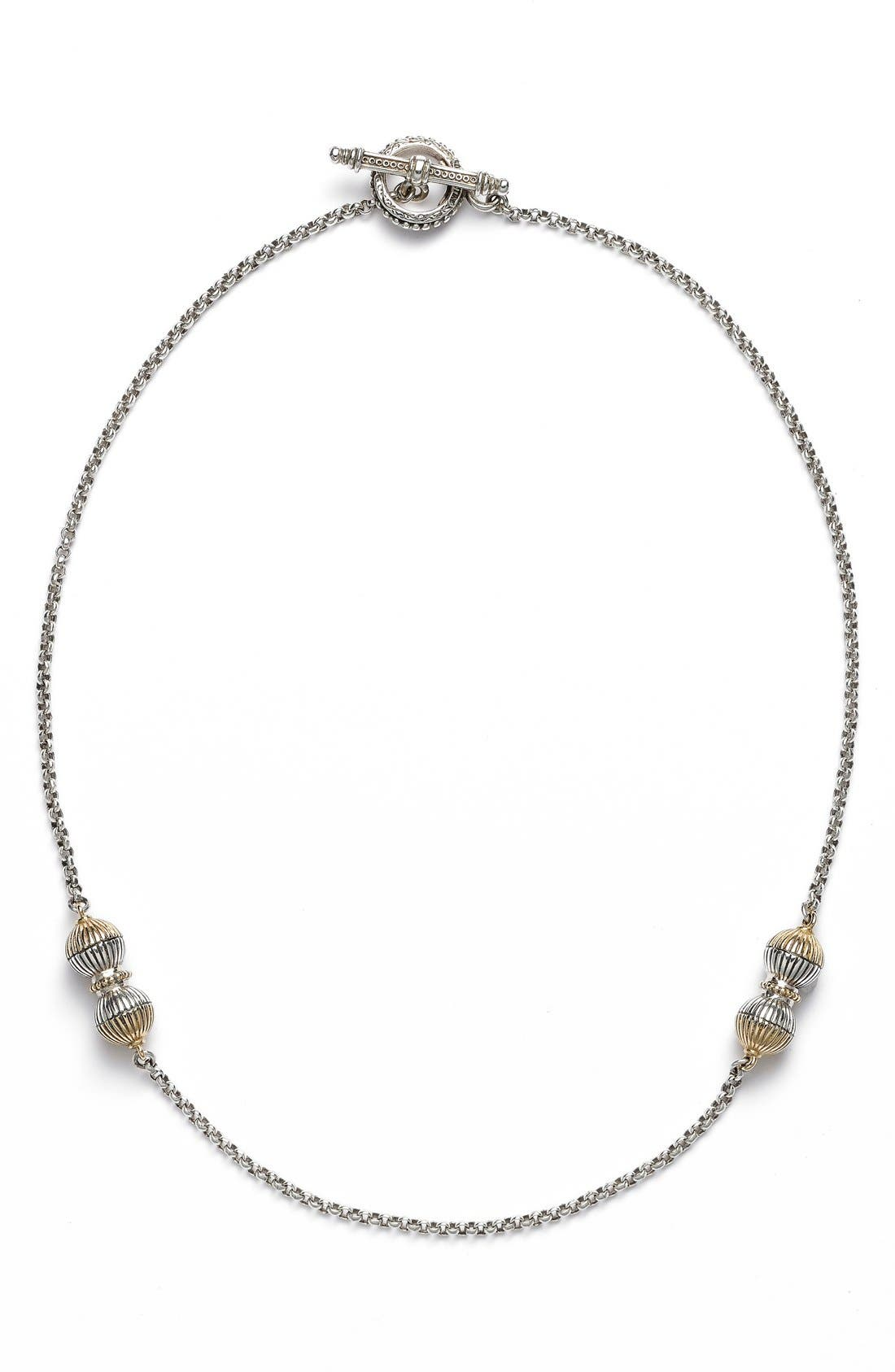 KONSTANTINO 'Hebe' Short Station Necklace