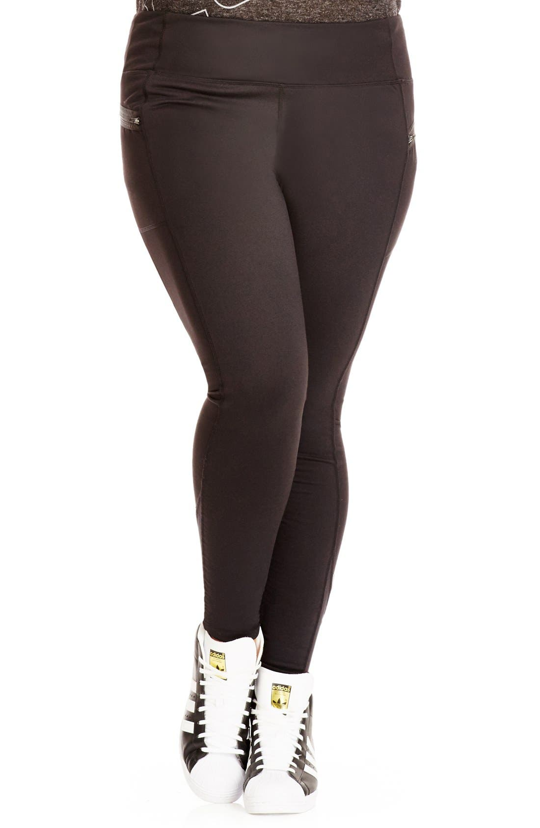 CITY CHIC Full Length Sport Leggings
