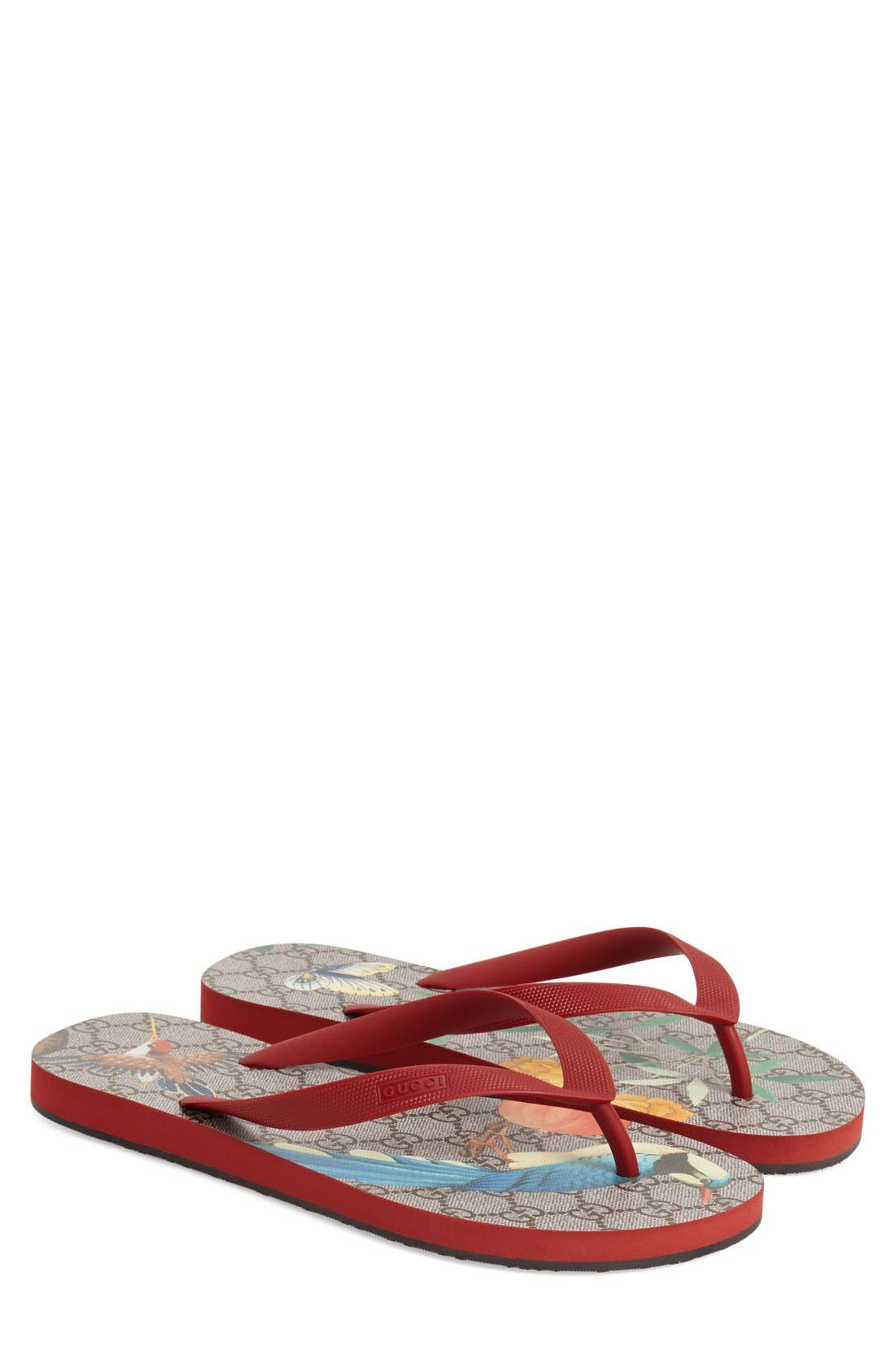 Alternate Image 1 Selected - Gucci 'Bedlam' Flip Flop (Men)