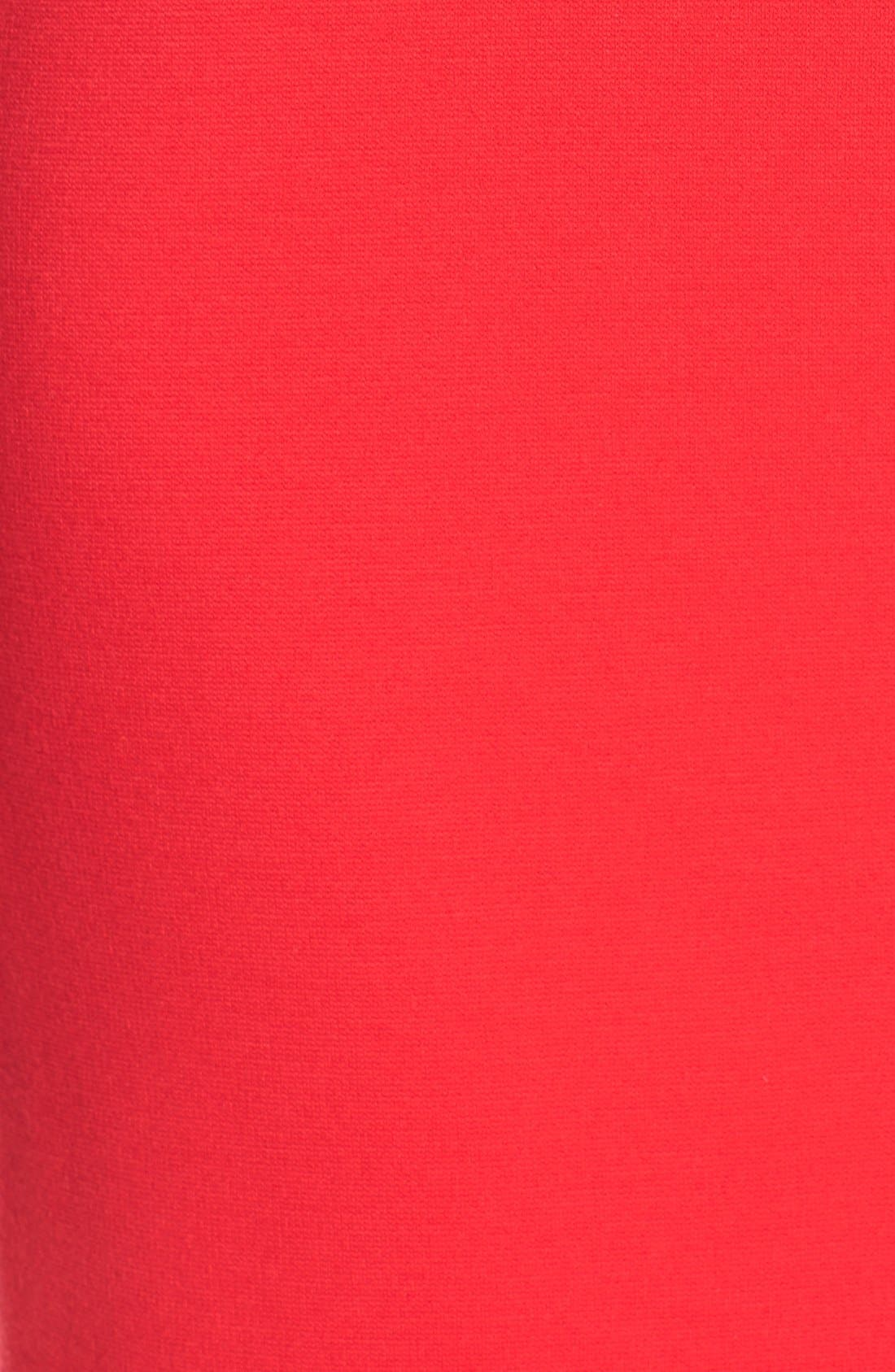 Alternate Image 5  - Eliza J V-Neck Crepe Sheath Dress