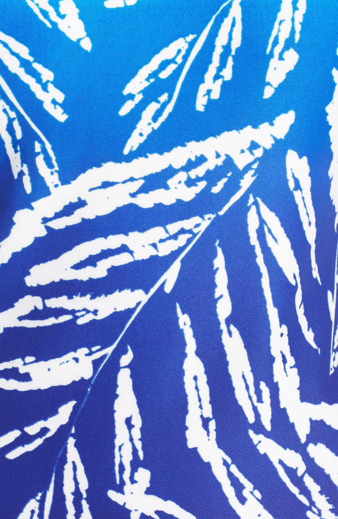Alternate Image 5  - Vince Camuto Ombré Print Stretch Scuba Midi Dress
