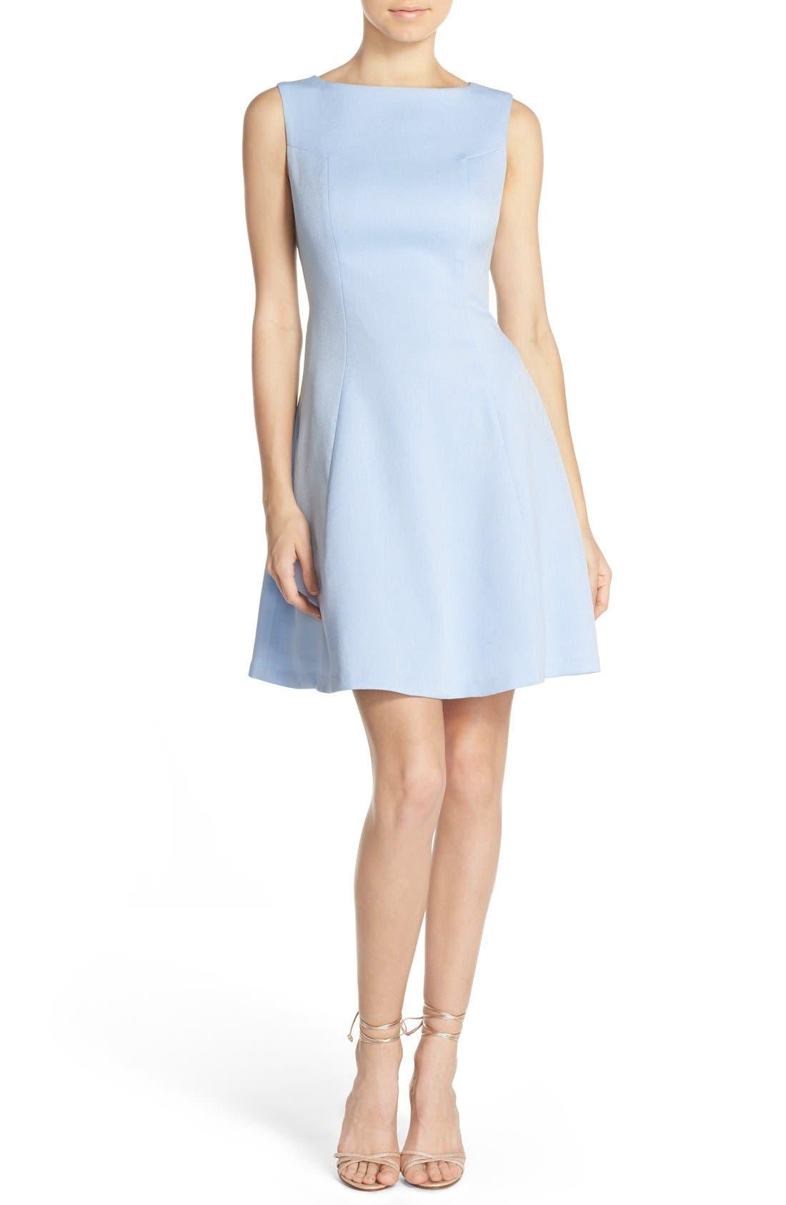 Alternate Image 4  - Chelsea28 Woven Fit & Flare Dress