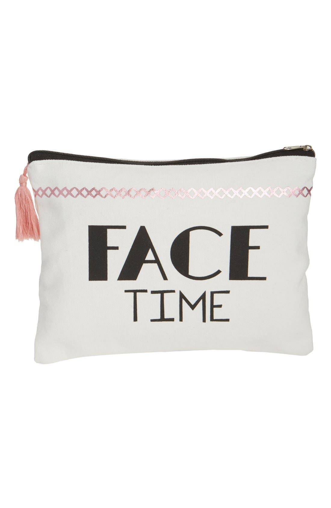 Alternate Image 1 Selected - Levtex 'Face Time' Accessory Bag