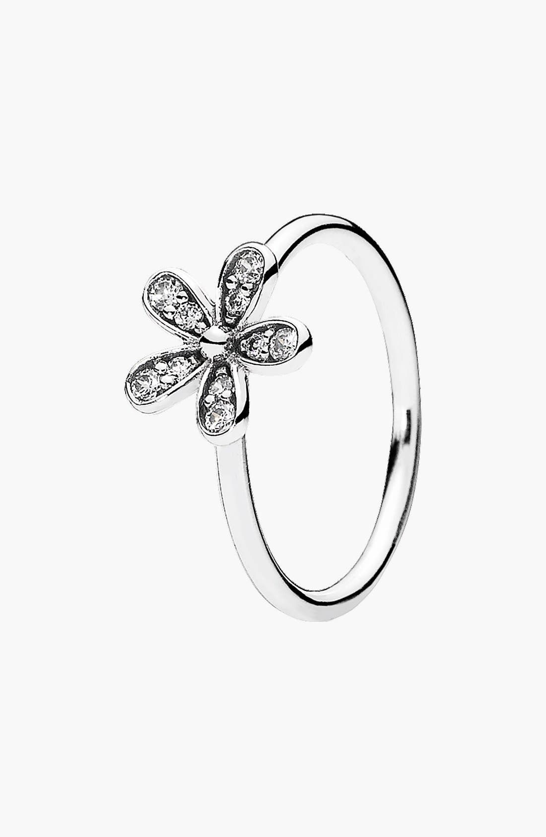 Alternate Image 1 Selected - PANDORA 'Dazzling Daisy' Ring