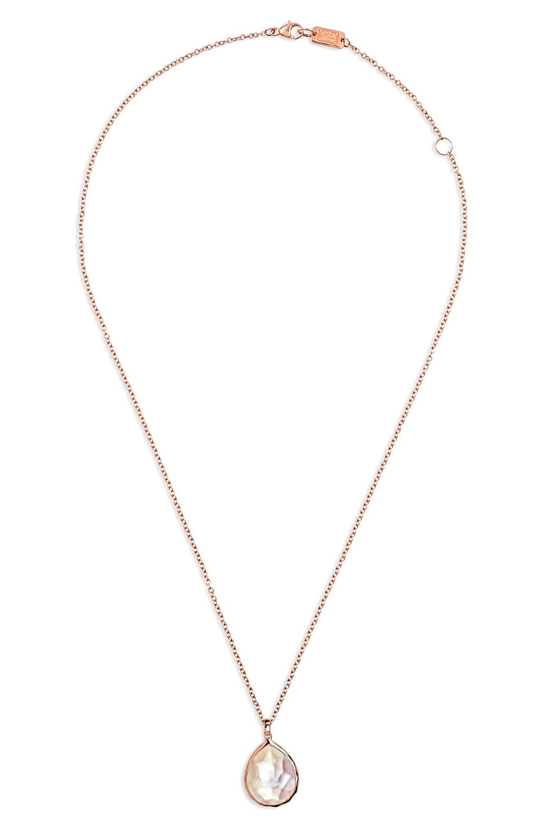 Alternate Image 1 Selected - Ippolita 'Wonderland' Mini Teardrop Pendant Necklace (Online Only)