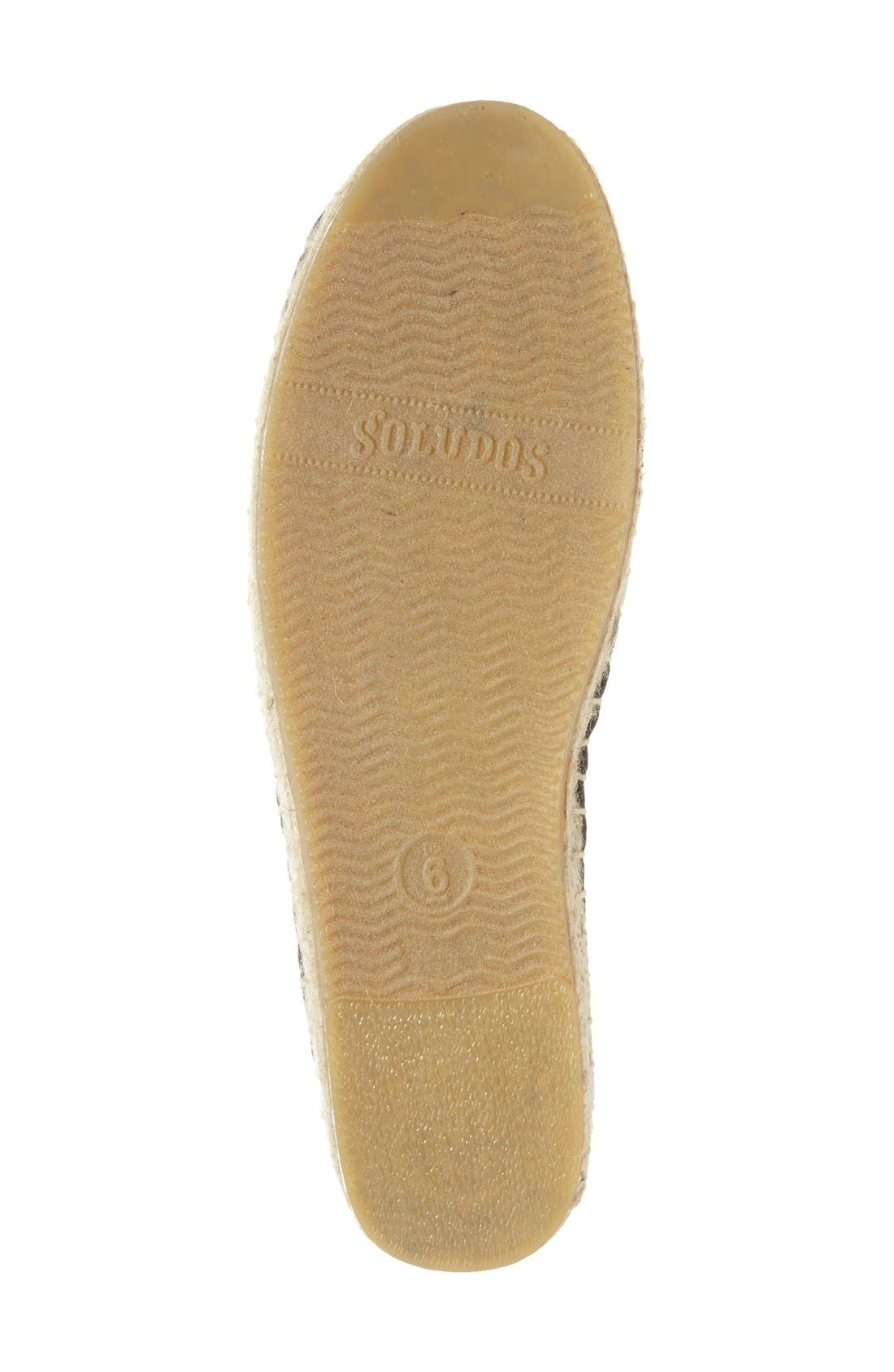 Alternate Image 4  - Soludos Lace Espadrille Slip-On (Women)