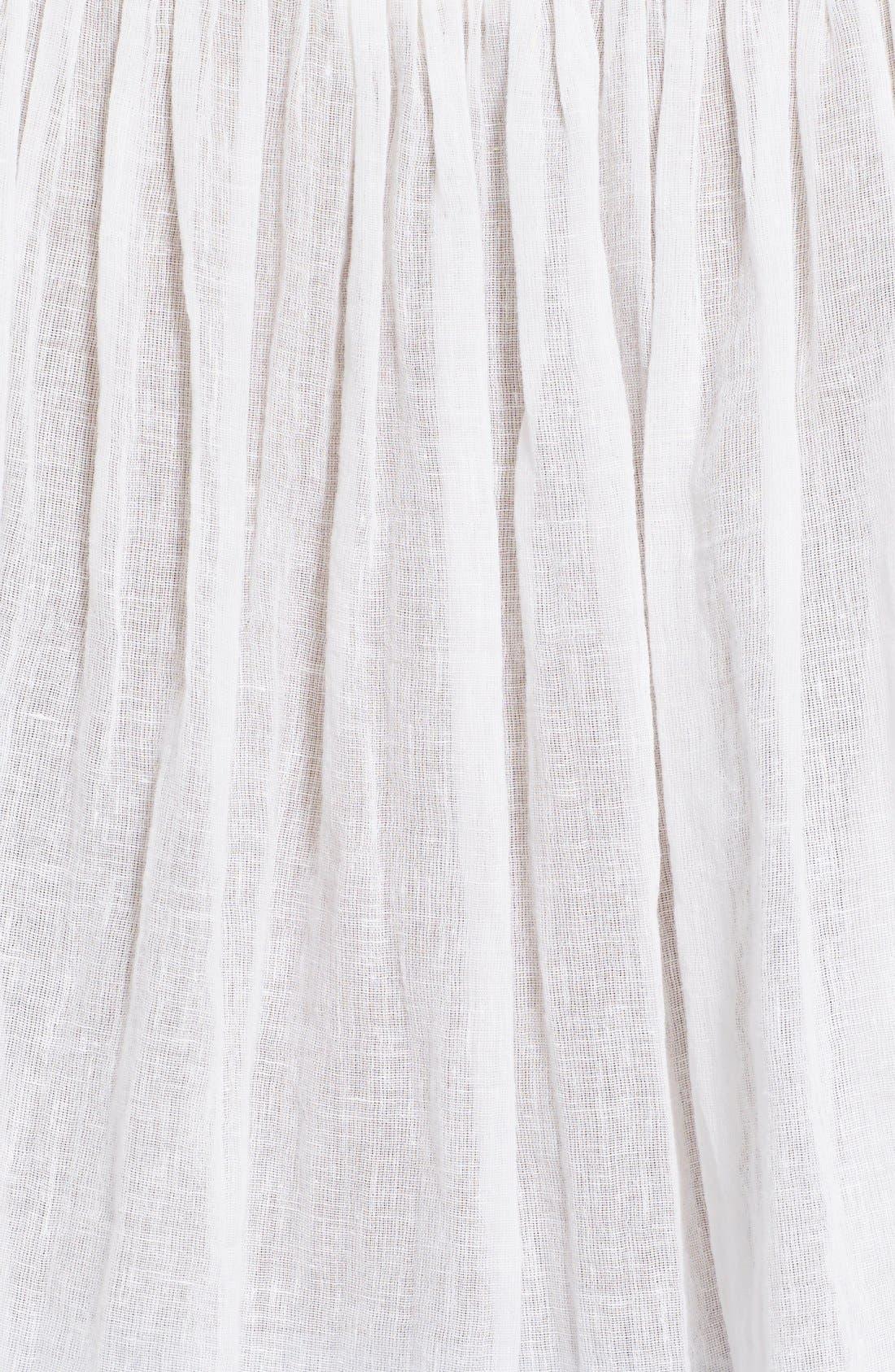 Alternate Image 5  - Rebecca Taylor Lace Trim Woven Peasant Top