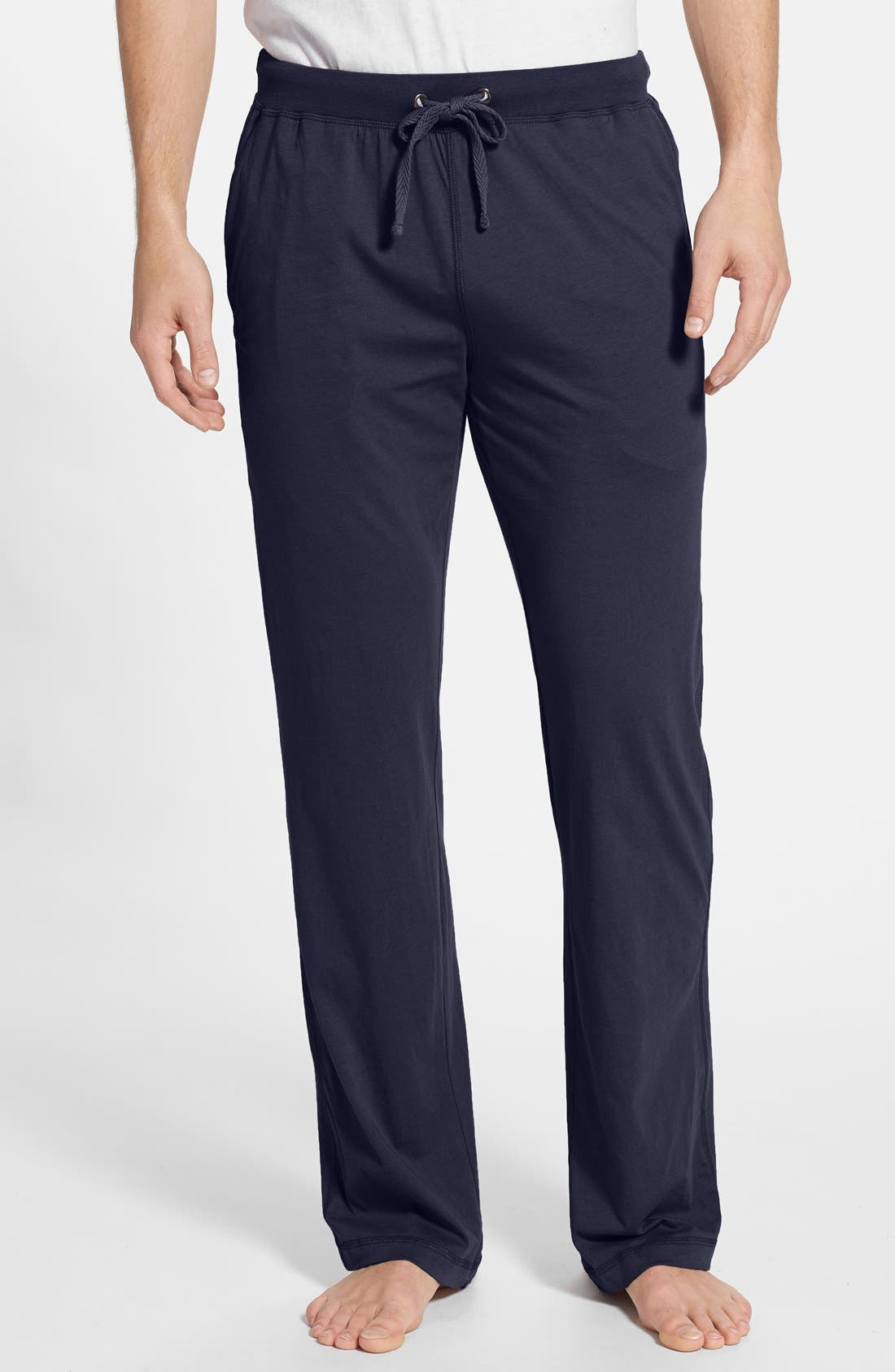 Alternate Image 1 Selected - Daniel Buchler Peruvian Pima Lightweight Cotton Lounge Pants