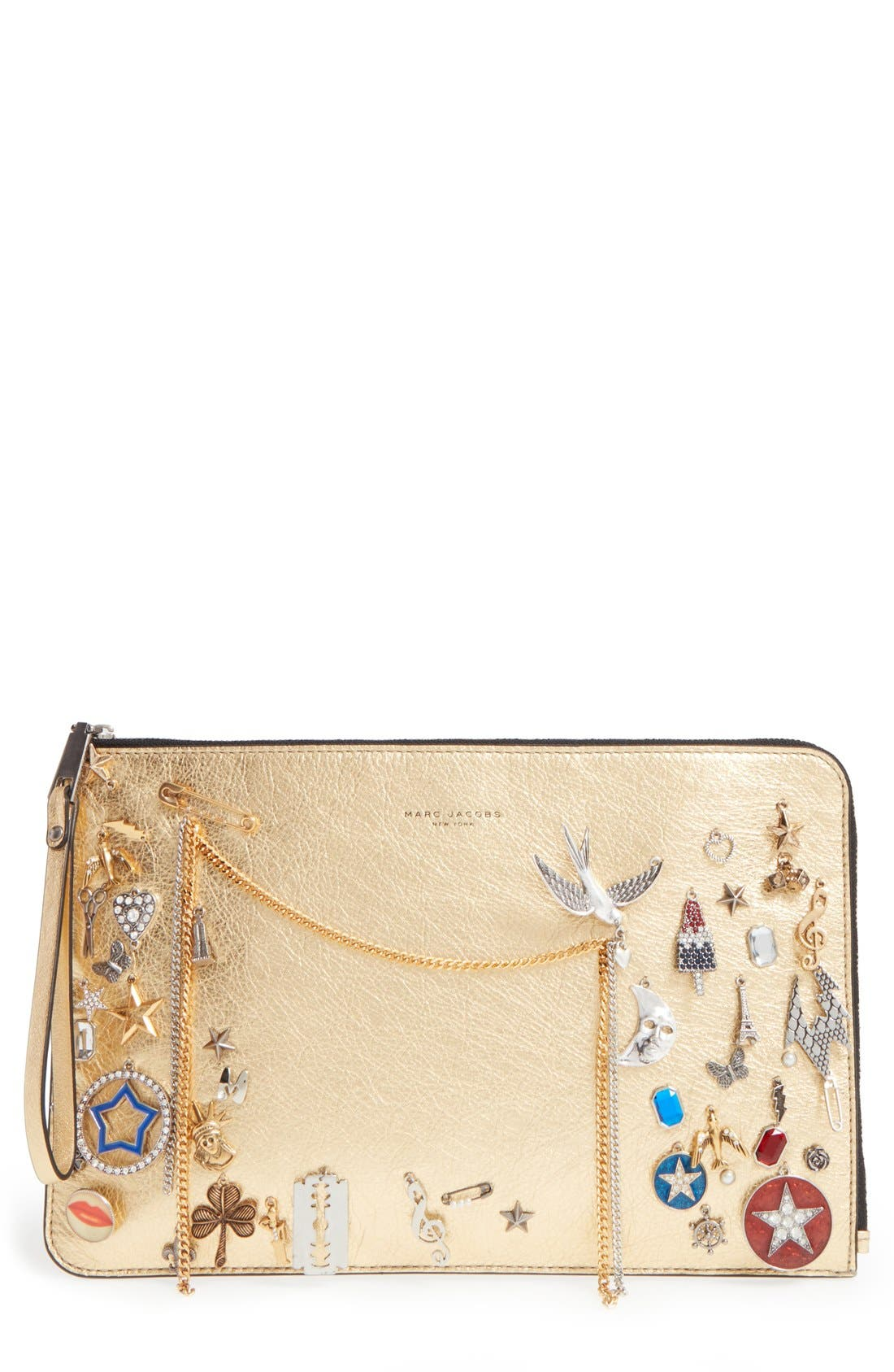 Alternate Image 1 Selected - MARC JACOBS 'Large Charms & Trinkets' Pouch