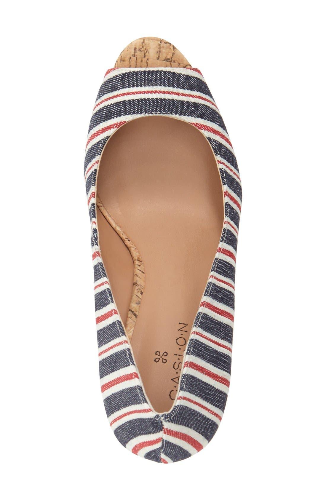Alternate Image 3  - Caslon® 'Devin' Peep Toe Wedge (Women)