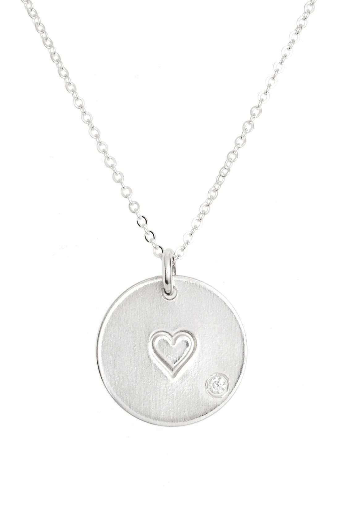 Alternate Image 1 Selected - Nashelle Diamond Pendant Necklace