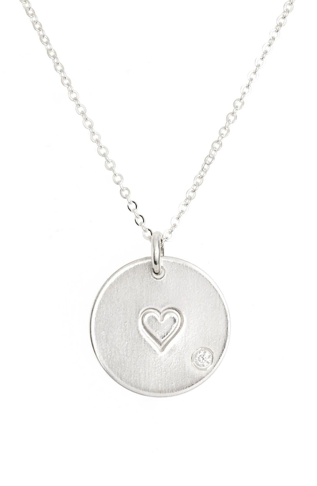 Main Image - Nashelle Diamond Pendant Necklace