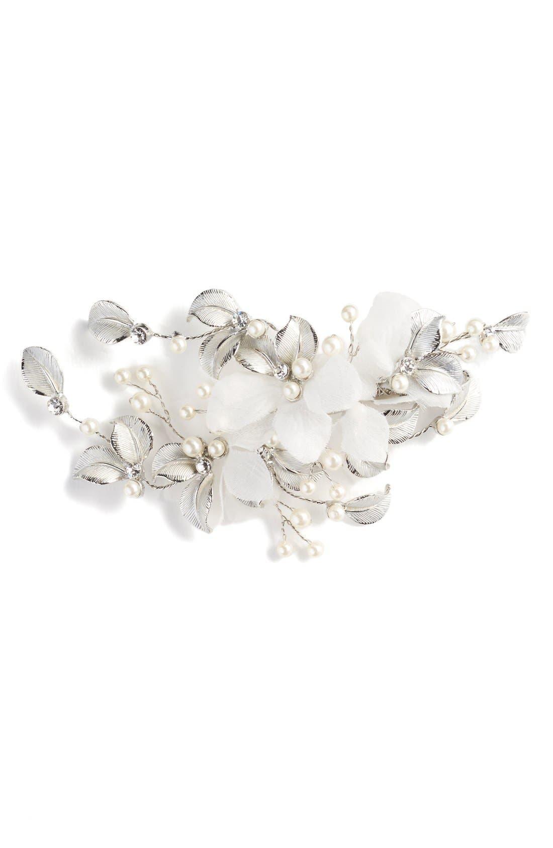 Alternate Image 1 Selected - Wedding Belles New York 'Genevive' Crystal Hair Comb
