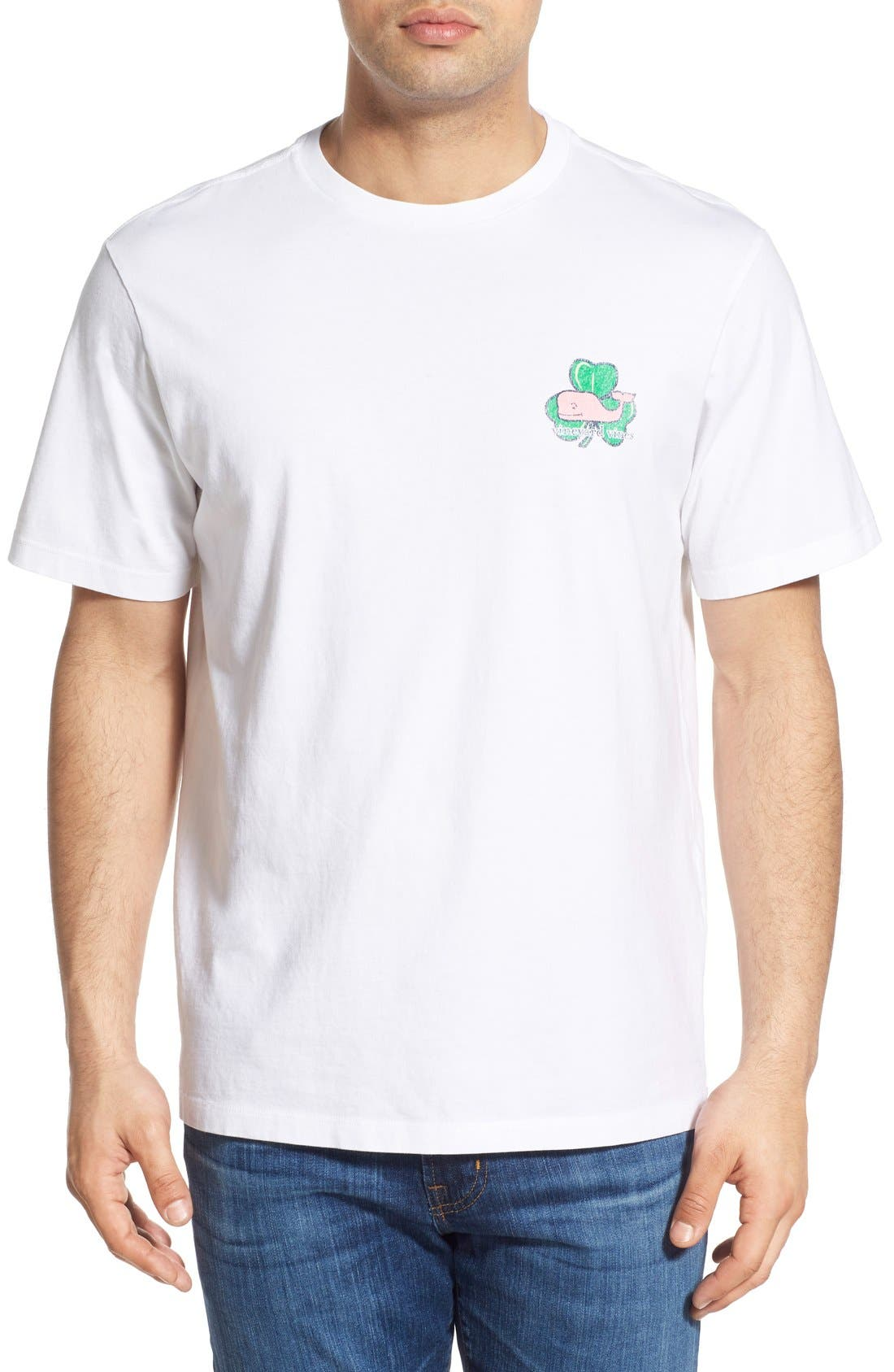Alternate Image 2  - Vineyard Vines 'Whale Shamrock' Graphic T-Shirt