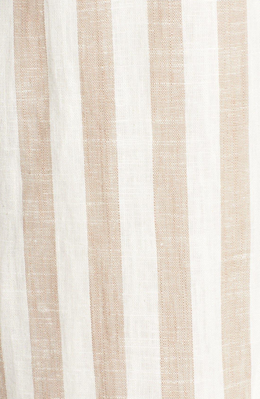 Alternate Image 5  - ASTR Linen Blend Wrap Dress