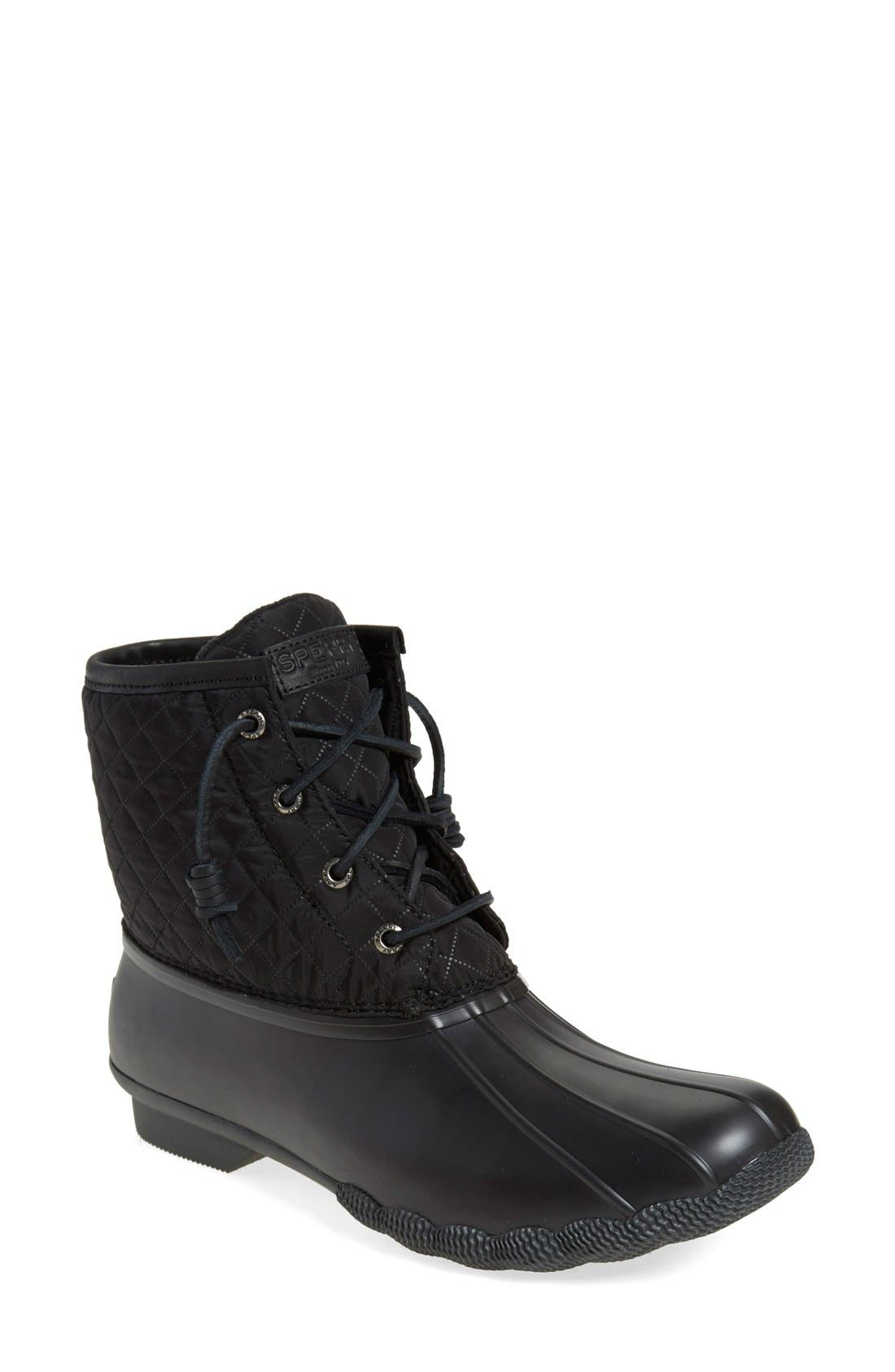 Main Image - Sperry 'Saltwater - Quilted' Duck Boot (Women)