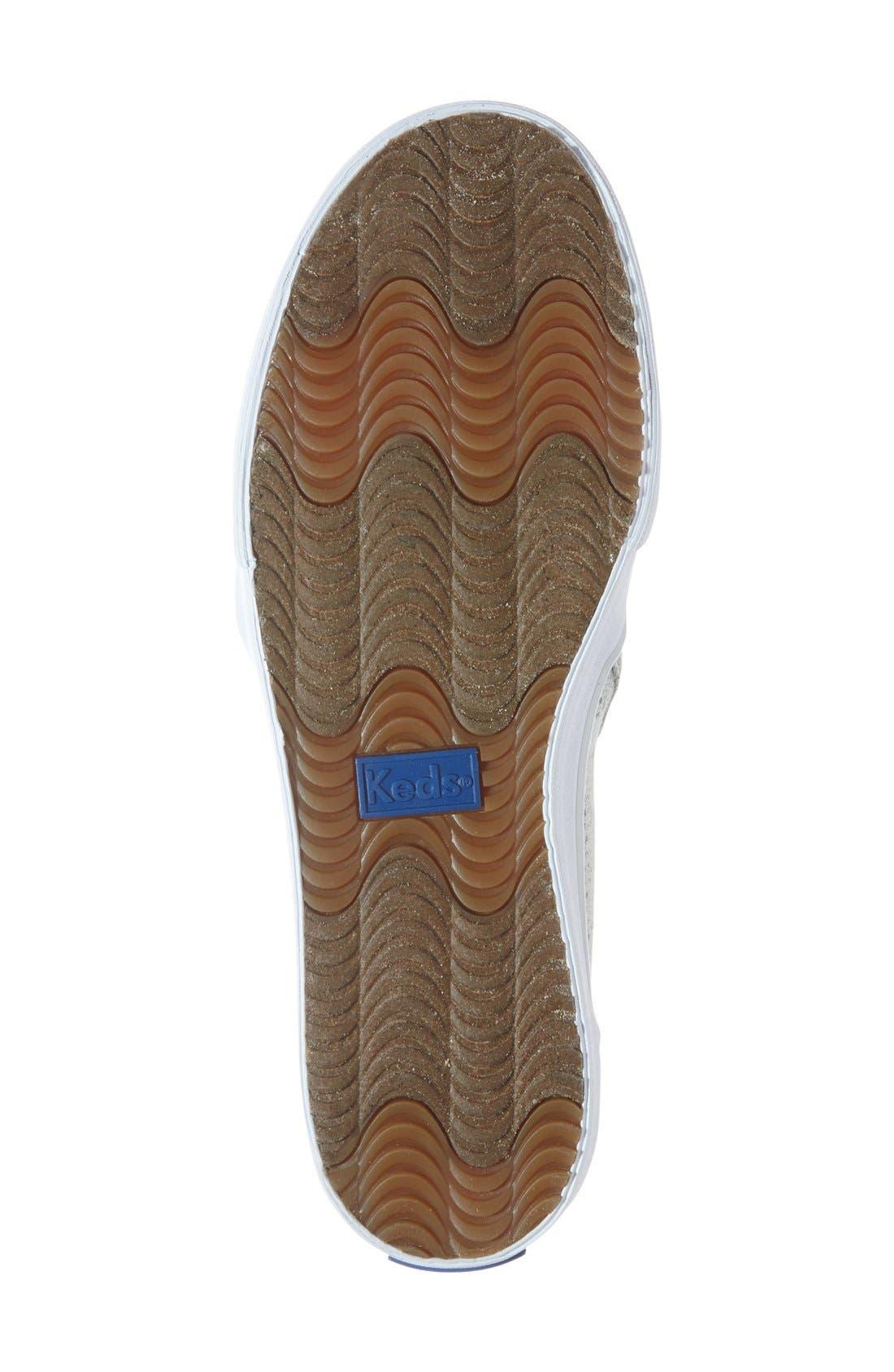 Alternate Image 4  - Keds® 'Double Decker' Perforated Slip-On Sneaker (Women)