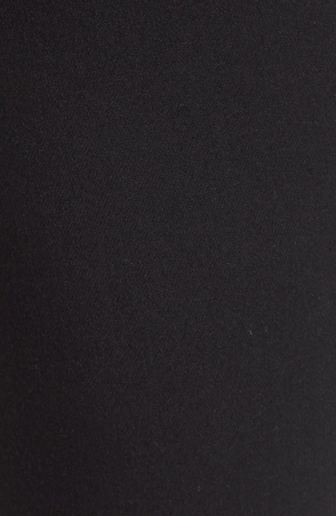 Alternate Image 5  - Paige Denim 'Transcend - Verdugo' Crop Skinny Jeans (Black Destructed)