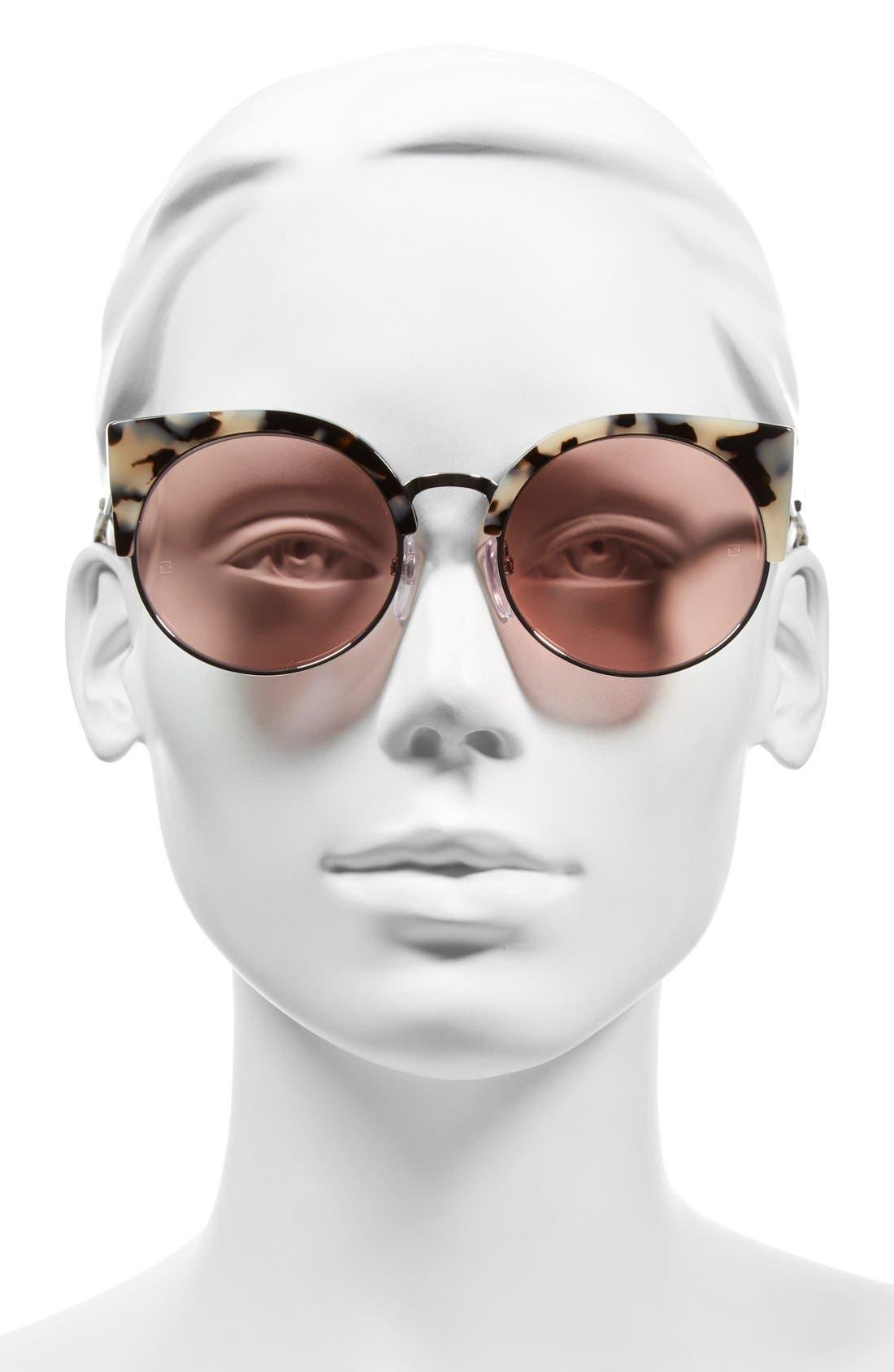 Alternate Image 2  - SUPER by RETROSUPERFUTURE® 'Ilaria Gel' 55mm Cat Eye Sunglasses