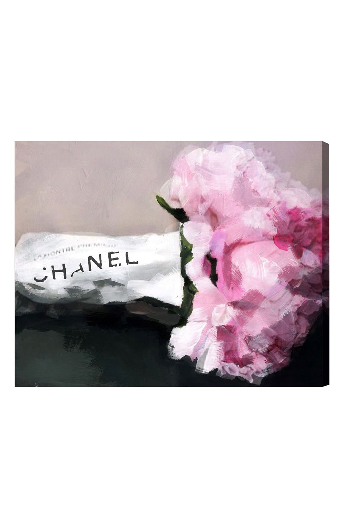 Main Image - Oliver Gal 'Expensive Flowers' Canvas Wall Art