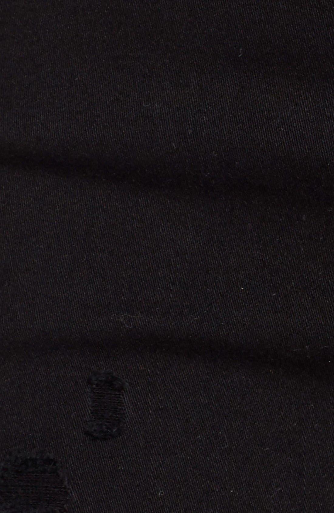 Alternate Image 5  - AGOLDE Sophie High Waist Skinny Jeans (Moon Struck)