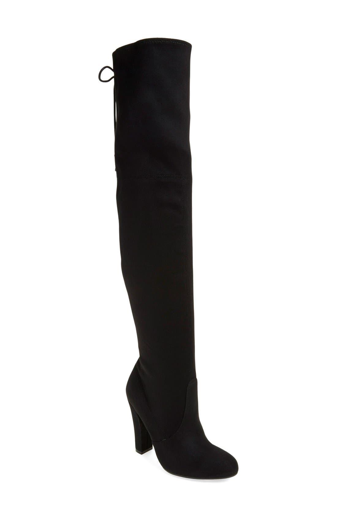 Main Image - Steve Madden 'Gleemer' Over the Knee Boot (Women)