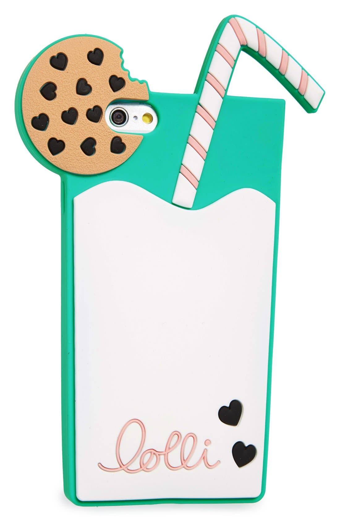 Alternate Image 3  - Lolli Swim Milk N' Cookies iPhone 6/6s Case