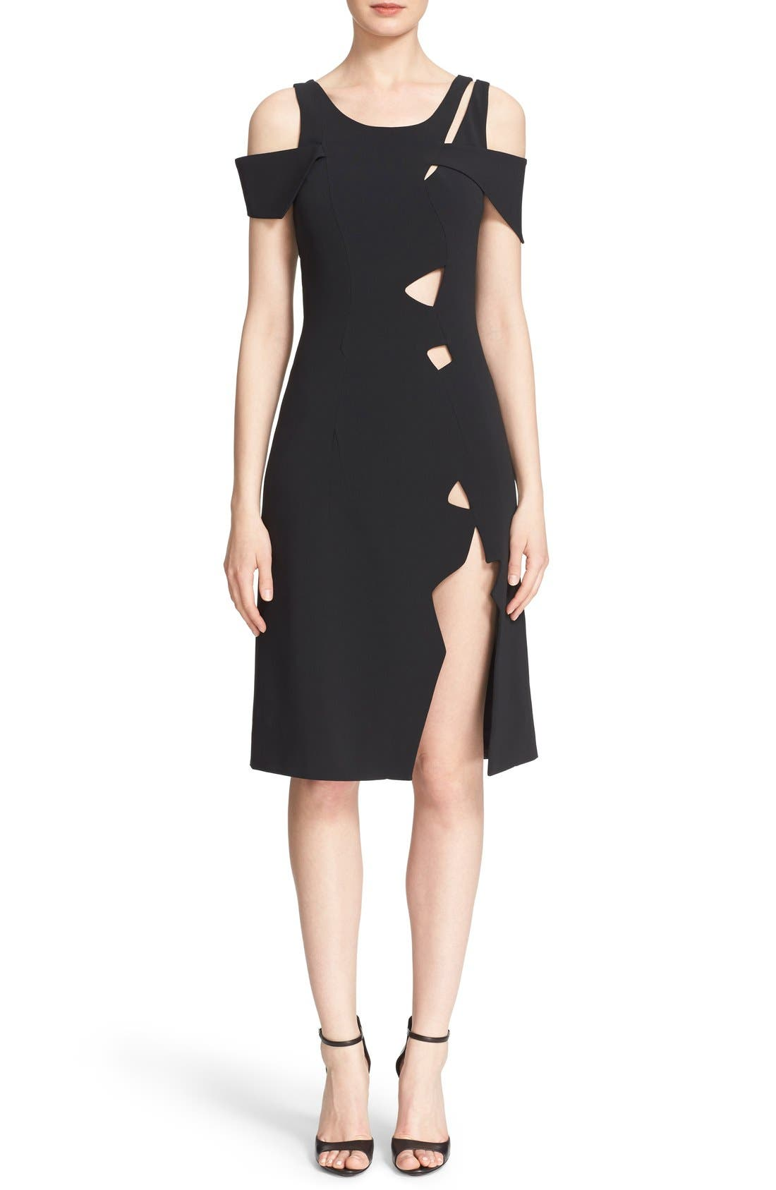 Alternate Image 1 Selected - Christopher Kane Cold Shoulder Dress