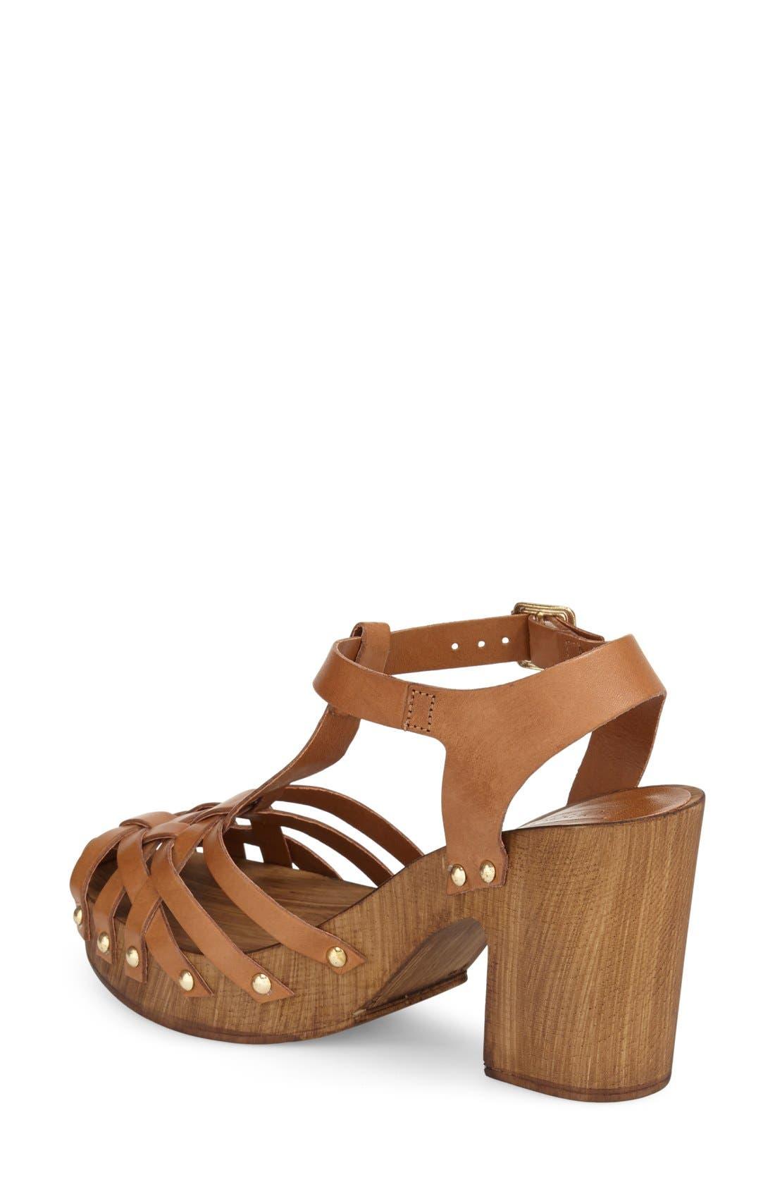 Alternate Image 2  - Topshop 'Venice' Platform Sandal (Women)