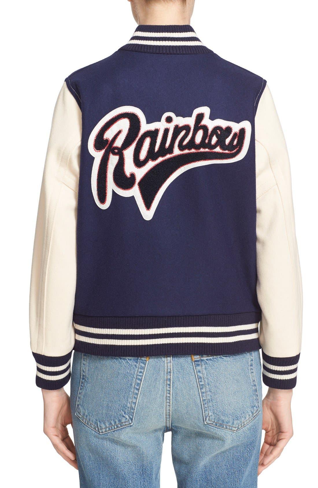 Alternate Image 2  - MARC JACOBS Shrunken Varsity Jacket