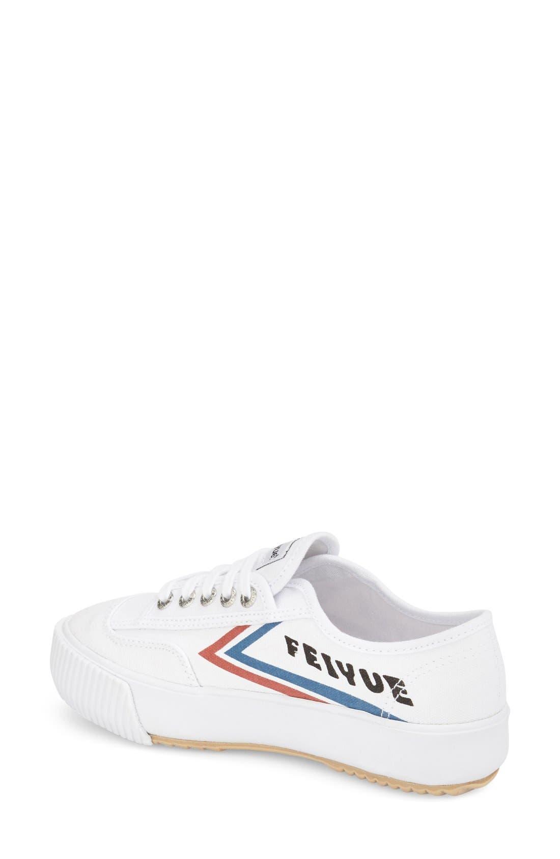 Alternate Image 2  - Feiyue. 'Fe Lo Platform' Canvas Sneaker (Women)