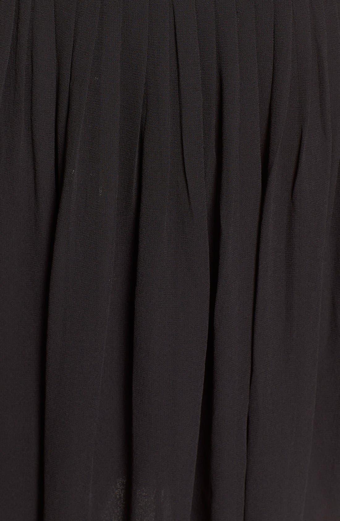 Alternate Image 5  - Lace & Beads 'Becky' Embellished Skater Dress