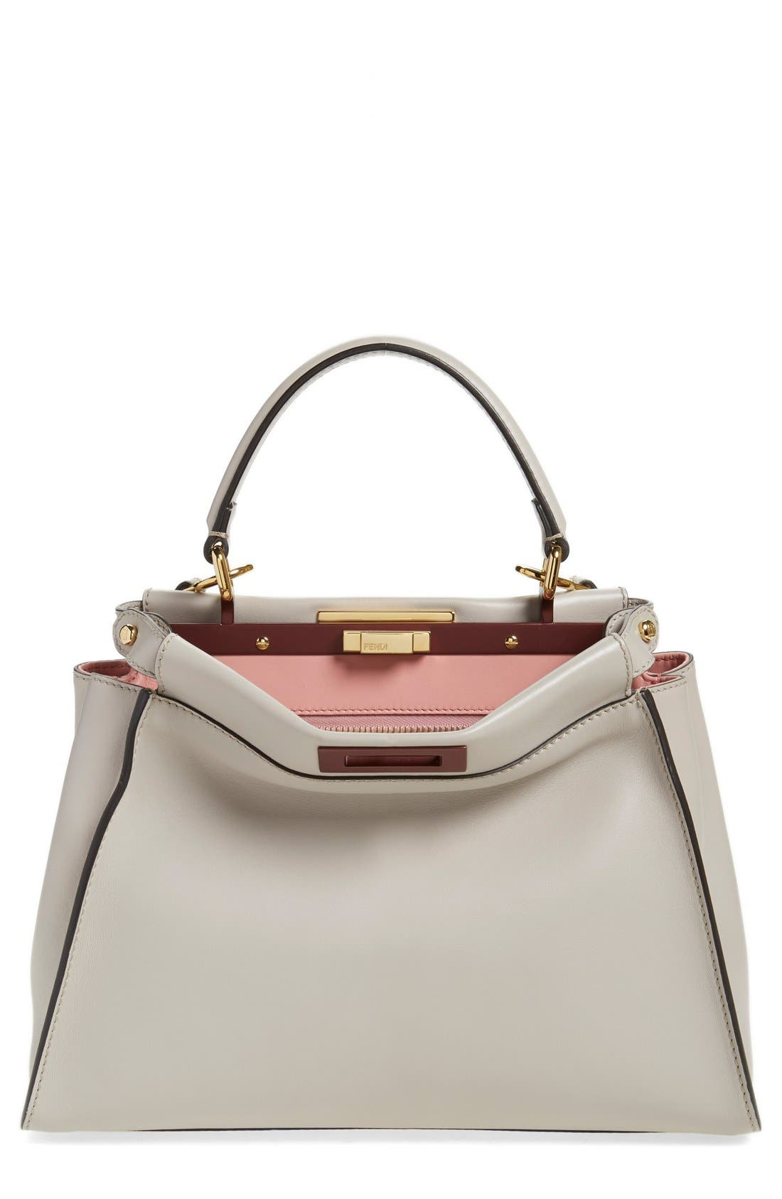 FENDI 'Peek-A-Boo' Medium Crossbody Bag