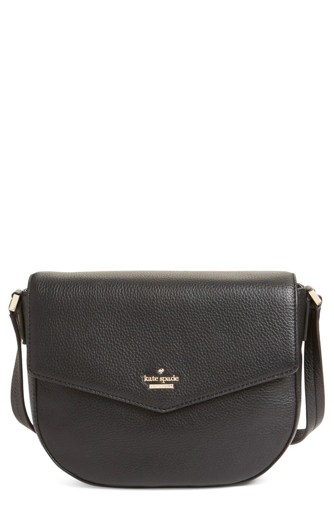 Main Image - kate spade new york 'spencer court - lavinia' leather crossbody bag
