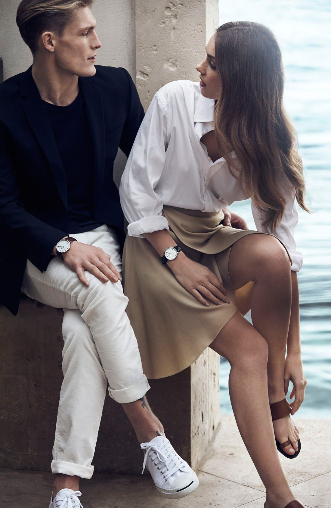 Alternate Image 5  - Daniel Wellington 'Classic St. Mawes' Leather Strap Watch, 40mm