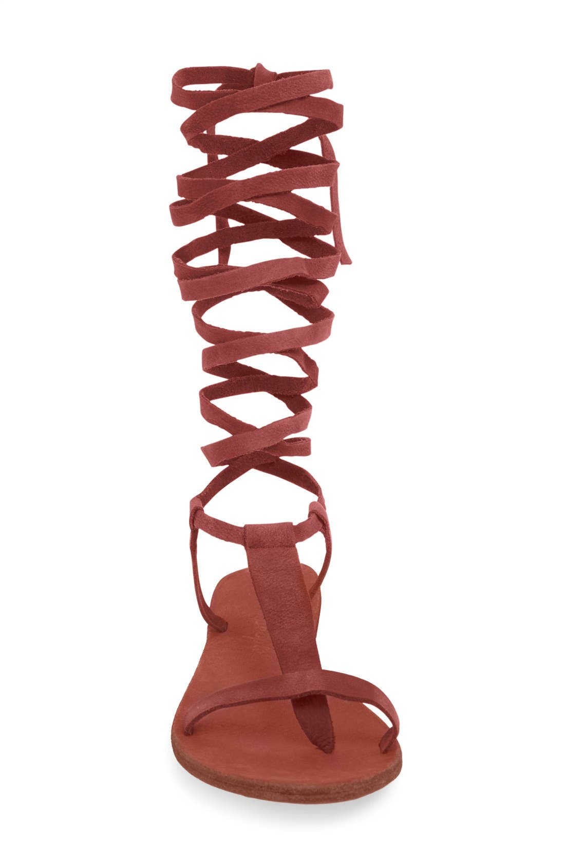 Alternate Image 3  - Free People 'Dahlia' Tall Gladiator Sandal (Women)